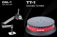 David SLS-2 3D-skannerille uusia lisävarusteita