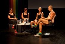 Fokus på kropp och funktion på ett välbesökt Pride House