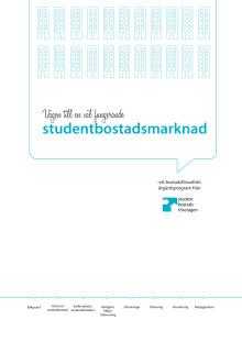 Vägen till en väl fungerande studentbostadsverksamhet