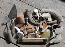 Arkeologidagen för barn på Kulturen