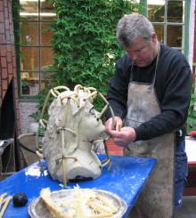 Pressinbjudan: Välkommen till bronsgjutningen av Göteborgs nya staty den 14 augusti