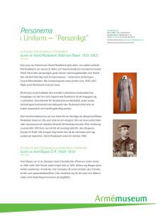 Personerna i uniformerna