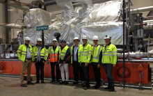 Ny turbin på Kraftvärmeverket