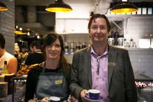 Löfbergs öppnar nytt kaffemecka i Stockholm