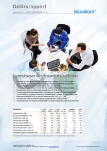 Delårsrapport för januari-september 2013