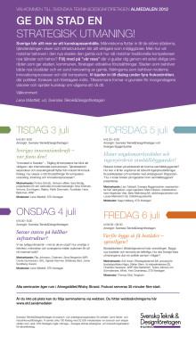 STD-företagen i Almedalen 2012