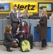 Upp till 33 procents rabatt på bilhyran i Hertz Sale