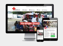 Nu ger vi med mobilen - digitala donationer förenklar och bidrar till ökad humanitär hjälp