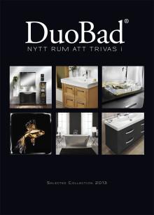 Ny badrumskatalog från DuoBad