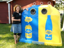 Svenska campingplatser slog pantrekord – över en miljon burkar och petflaskor