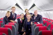 Karibien och Spanien bidrog till trafiktillväxt och högre kabinfaktor för Norwegian i januari