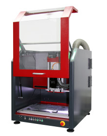 "Nu kommer Isel Germanys kompakta ""ready to use"" CNC-maskin ICV4030-C med en mycket bättre huv-design."