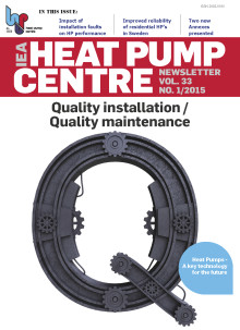 Nytt nr av Heat Pump Centre Newsletter