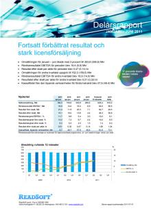 Delårsrapport januari – juni 2011