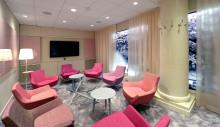 Nyrenoverade mötesrum för konferens