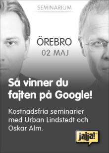 Så vinner du fajten på Google (Örebro)