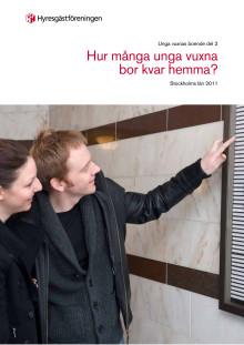 Hur många unga vuxna bor kvar hemma i Stockholm