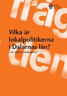 Vilka är lokalpolitikerna i Dalarnas län?