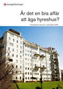 Rapport: Är det en bra affär att äga hyreshus i södra Skåne?