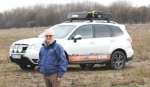 Med Subaru Forester till vägs ände