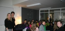 Spanska elever på besök i Sundsvall