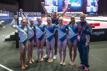 Sverige 22:a i lag-VM i kvinnlig artistisk gymnastik