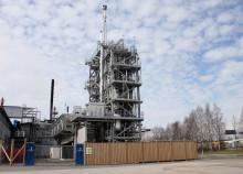 Premiär för grönt bränsle till industrin