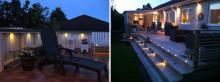 Belysning för trädgården - bästa tipsen