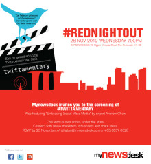"#RedNightOut - Film ""Twittamentary"""