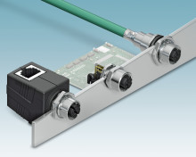 Nya M12 kontakter för 10 Gbit/s dataöverföring