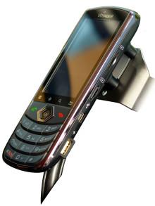 Fastmonterad smartphone pålitlig nyhet på MaskinExpo