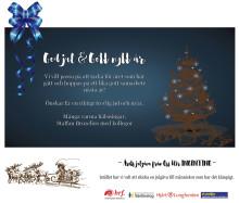 God Jul & Gott Nytt år önskar vi på Bemannia