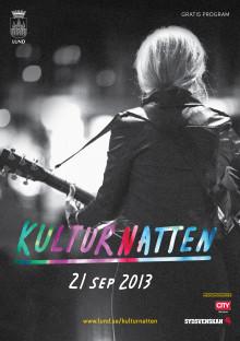 Pressträff: Programsläpp Kulturnatten 2013