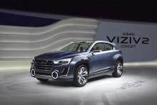 Världspremiär för Subaru VIZIV 2 Concept i Genève