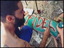 KUBA: Graffitikonstnär frisläppt efter ett år