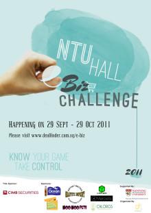 NTU Hall e-Biz Challenge 2011