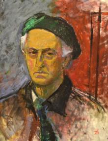Rune Ekre och hans konstnärskap - en minnesutställning på Lödöse museum.