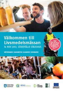 Livsmedelsbranschen träffas i Stadshuset!