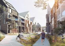 Storsatsning inför byggstart i Nya Hovås- HSB, Skanska, Veidekke och Next Step Group gör gemensam sak.