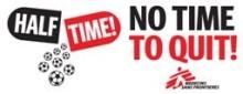 Inbjudan till HALFTIME! - en internationell insats för att öka medvetenheten om den fortsatta kampen mot hiv/aids.