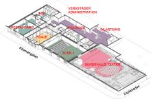 """Nu har startskottet gått för sista etappen av det """"nya"""" teaterkvarteret i Sundsvall"""