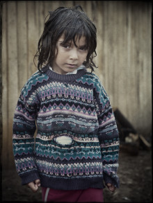 Det är vi som är dom - porträtt av romer i Rumänien invigs på Bohusläns museum den 10 januari