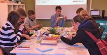 Prototyper i fokus när inkubatorn träffade studenter