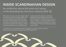 TMF, Färg &Blanche och Stockholmsmässan i utställningssamarbete: Skandinaviska möbeln – bakom kulissen
