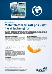 Phonera Mobiltelefoni - Produktblad