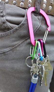 Keyhub nyckelringssystem
