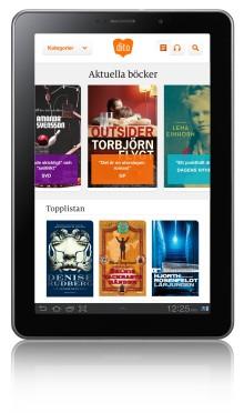 Premiär för e-böcker och läsplattor hos Akademibokhandeln i Stockholm