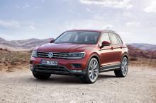 Säljstart för nya Volkswagen Tiguan