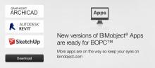 Nya versioner av BIMobject® Apps klara för BOPC™