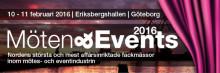Många nyheter på Möten & Events i Göteborg